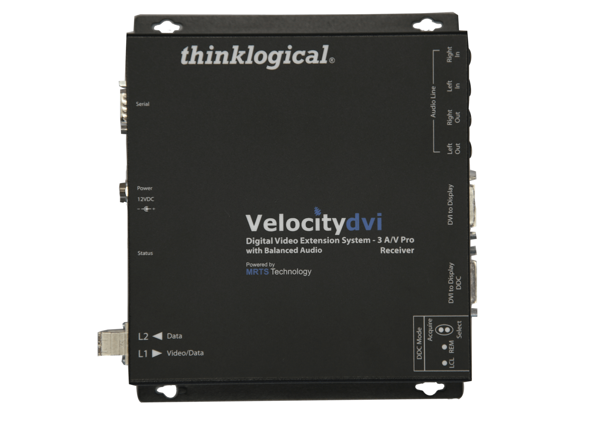 Velocity 3 Scaling Receiver DVI Video Extender