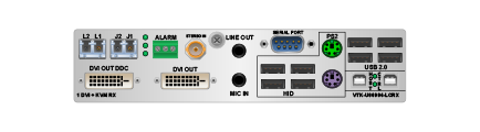 Velocity 2×1 KVM Switch Extender
