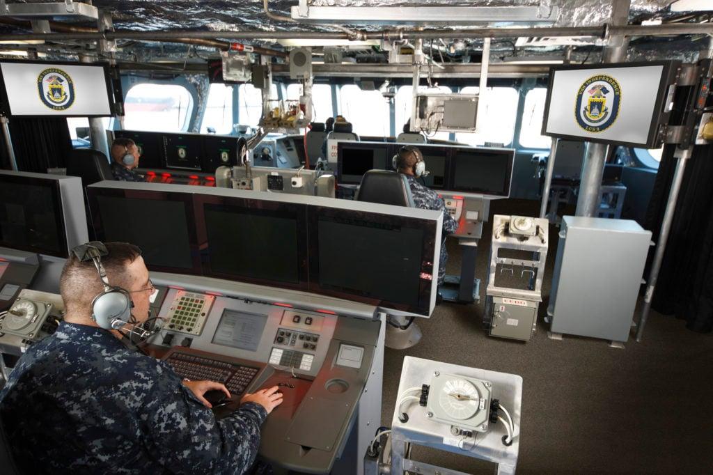 SHIP'S BRIDGE & COMBAT INFORMATION CENTER