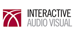 Interactive Audio Visual Logo